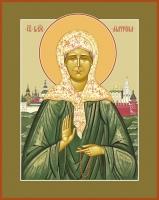 Молебен с акафистом блж. Матроне Московской