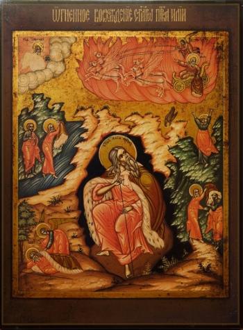 Молебен с акафистом Пророку Илии