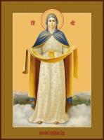 Молебен с акафистом пред иконой Божией Матери «Покров Пресвятой Богородицы»